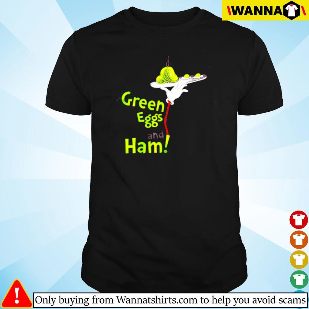 Dr. Seuss green eggs and ham shirt