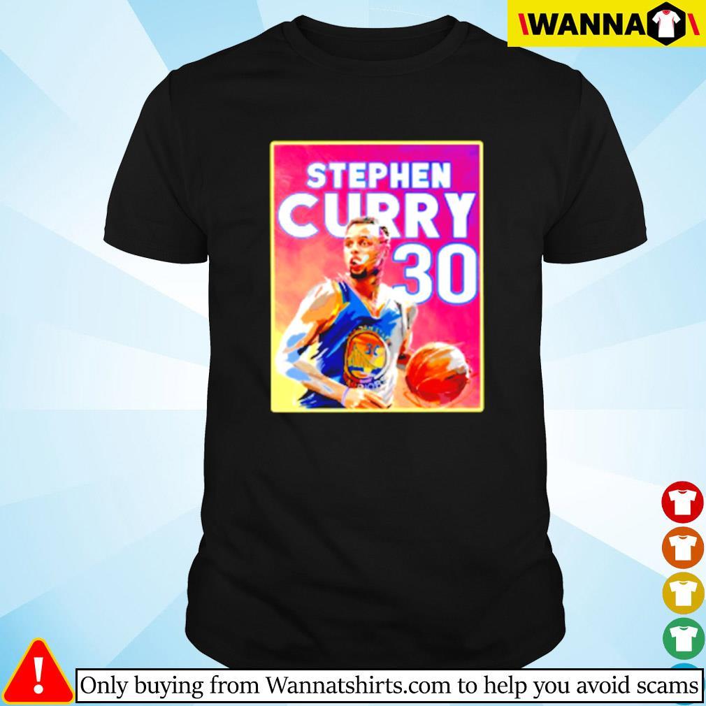 Golden State Warriors Stephen Curry 30 shirt