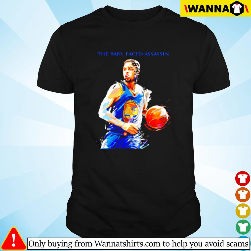 Golden State Warriors Stephen Curry the baby faced assassin shirt