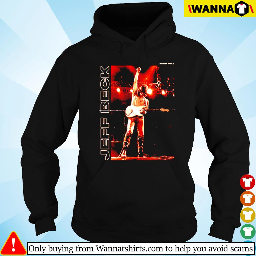 Jeff Beck on stage tour 2019 s Hoodie