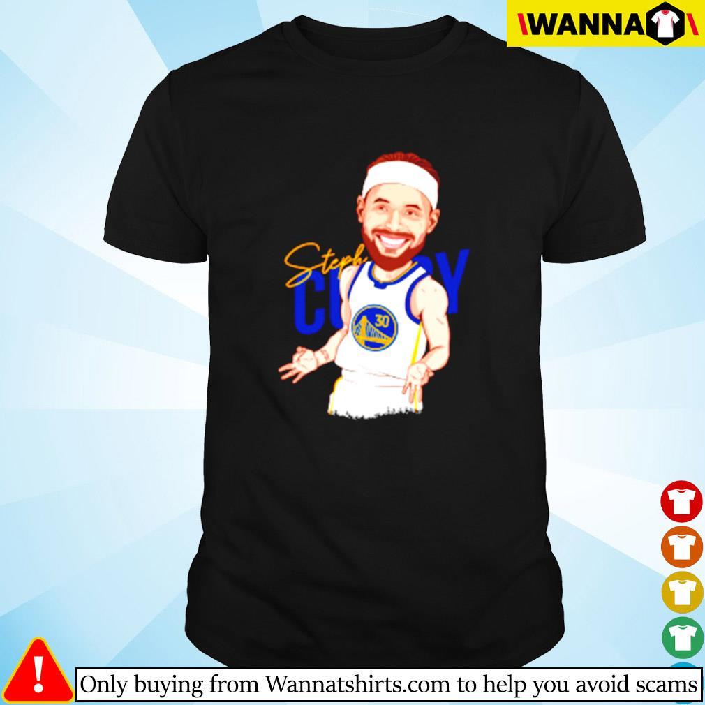 Steph Curry Golden State Warriors signature shirt