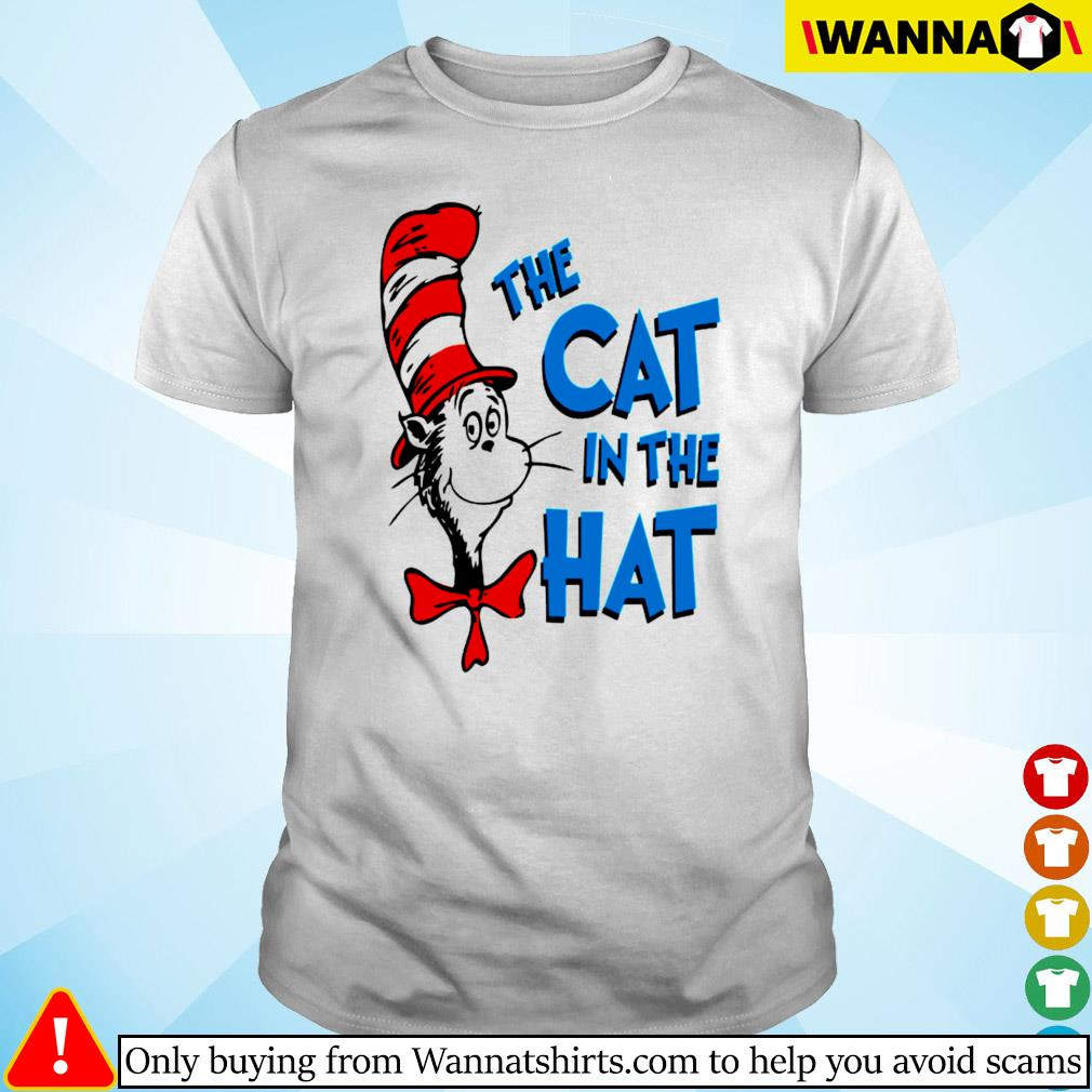 The cat in the hat Dr. Seuss shirt