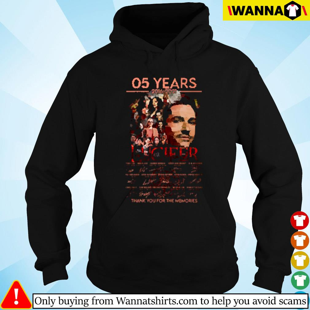 05 Years of Lucifer 2016-2021 signature Hoodie