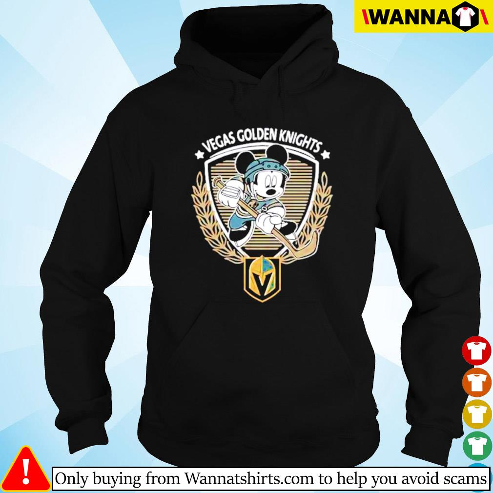 Begas Golden Knights Mickey Mouse Hoodie