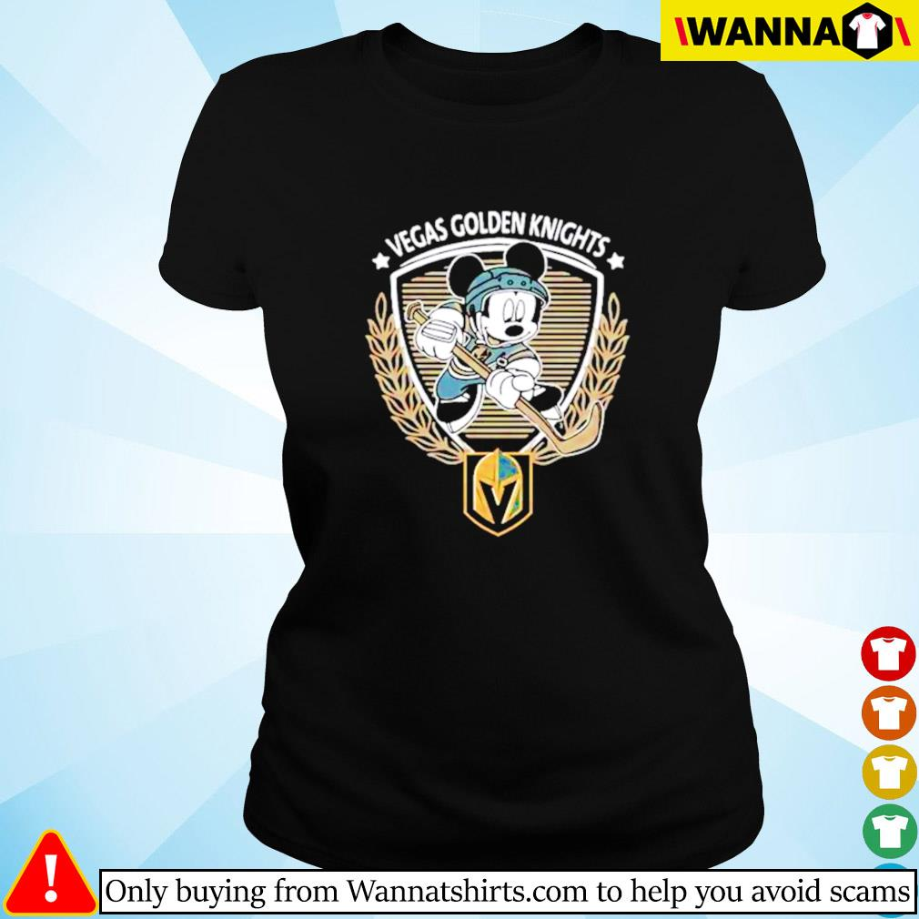 Begas Golden Knights Mickey Mouse Ladies tee