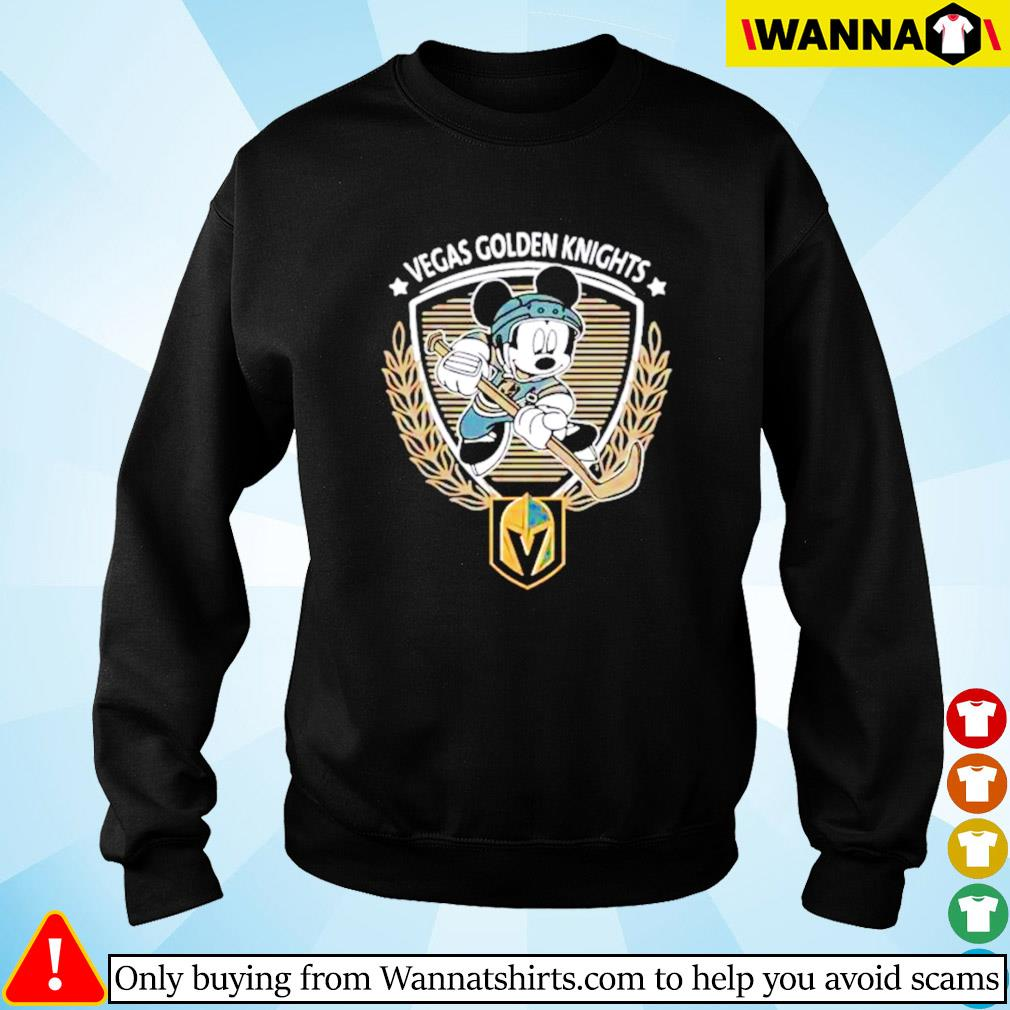 Begas Golden Knights Mickey Mouse Sweater