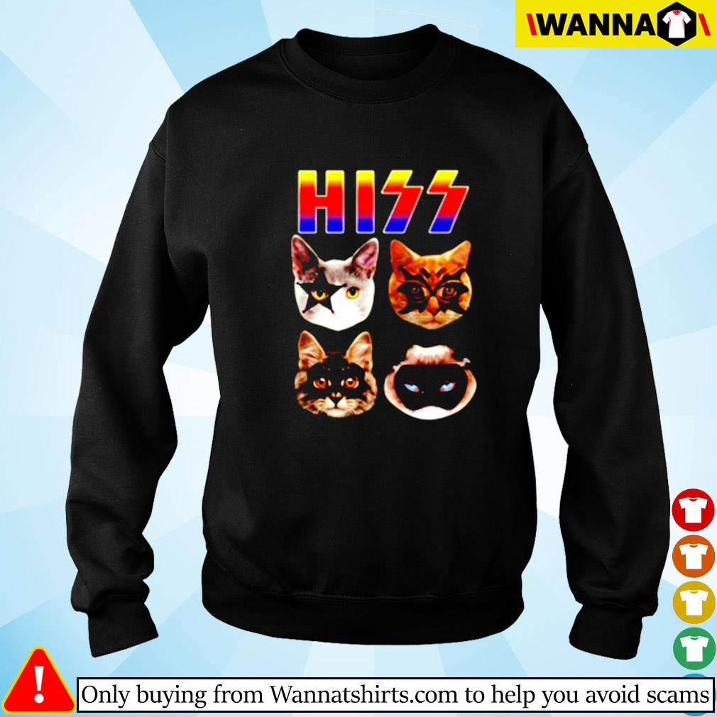 Cat hiss kiss band Sweater