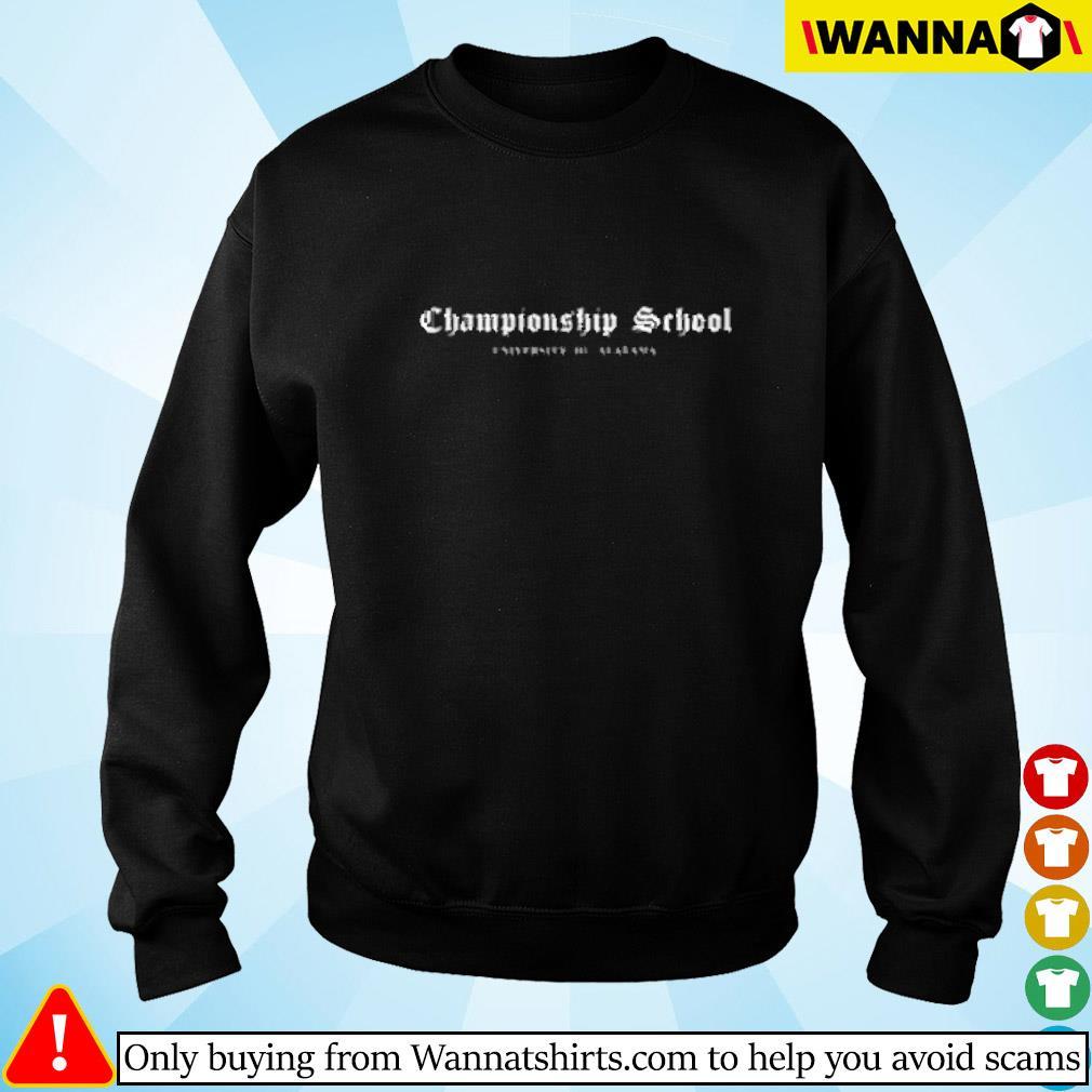 Championship school university of Alabama Sweater