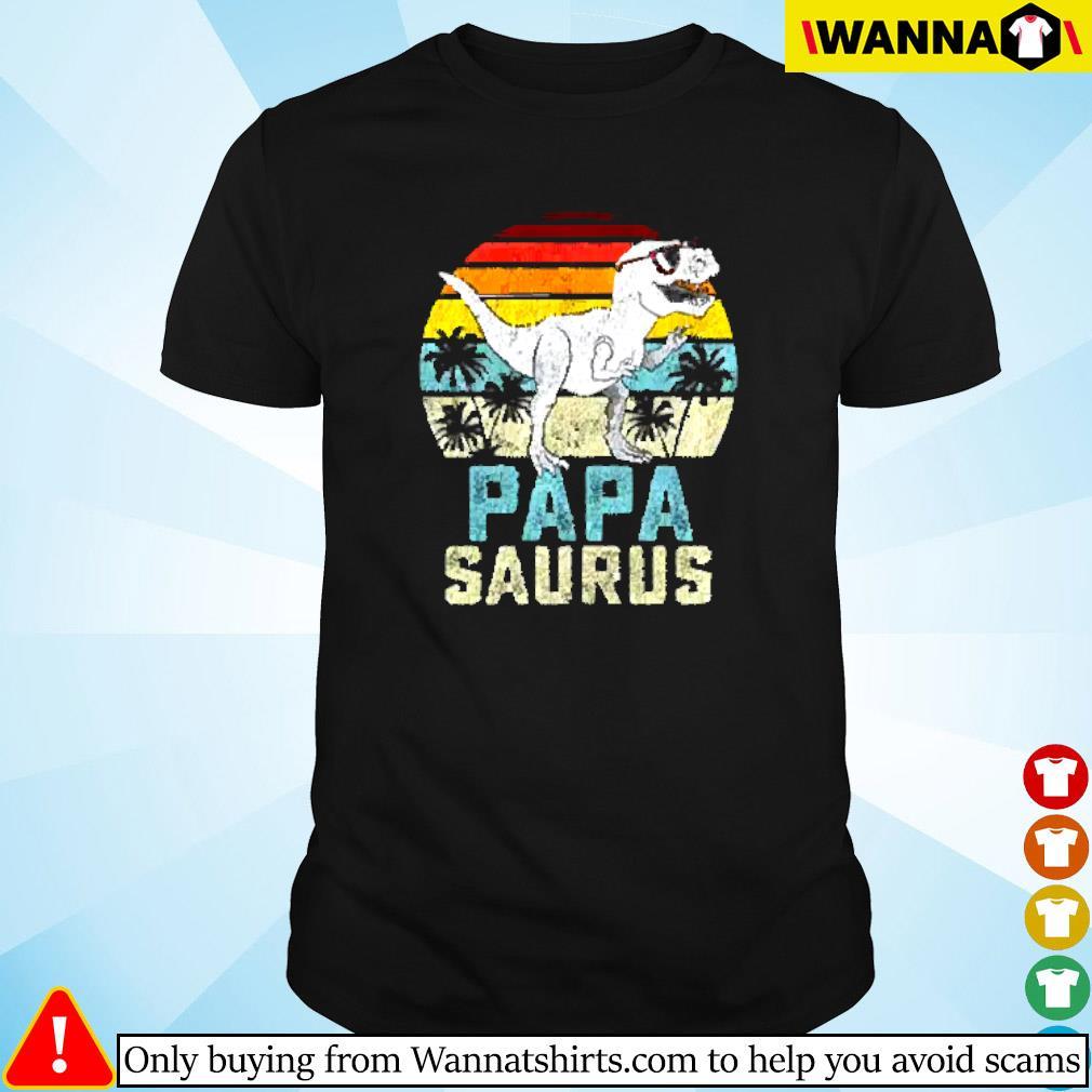 Dinosaur Papa saurus vintage shirt