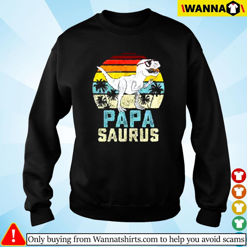 Dinosaur Papa saurus vintage Sweater