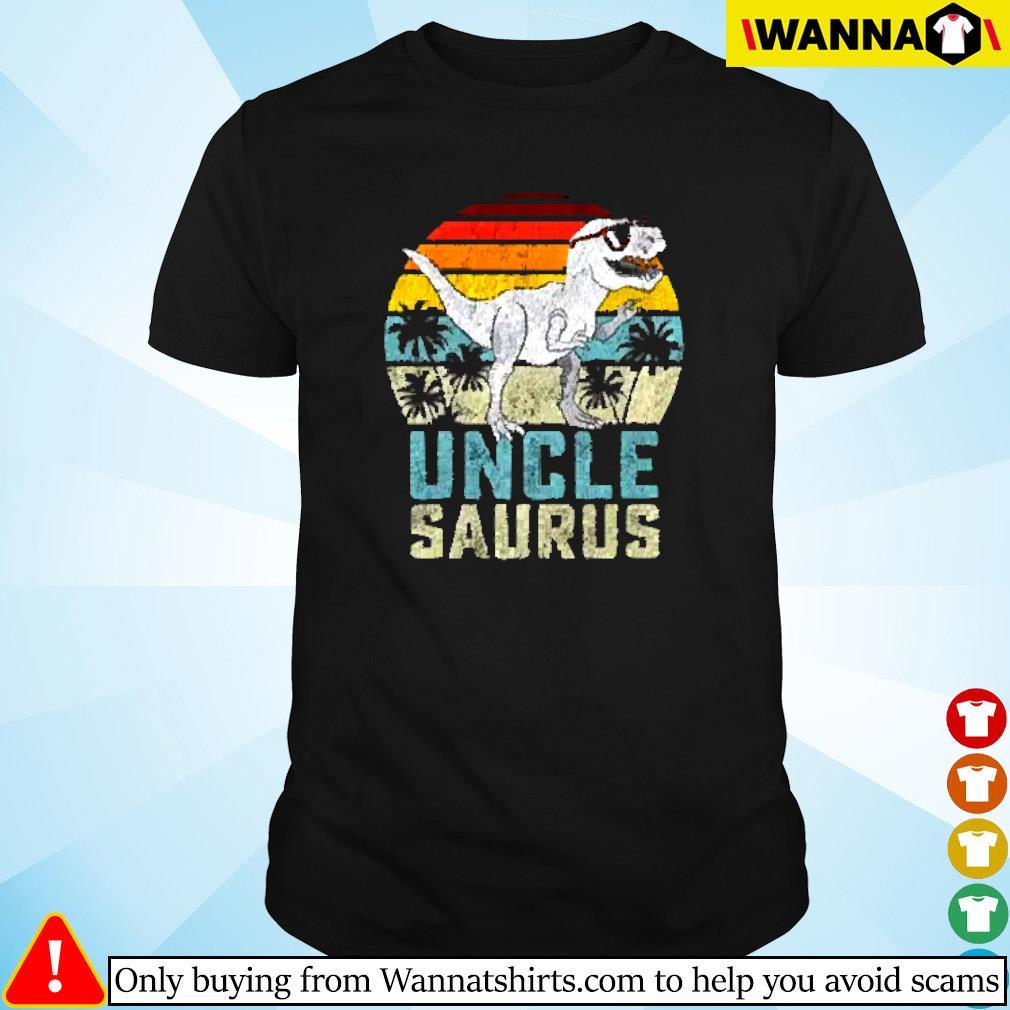 Dinosaur uncle saurus vintage shirt