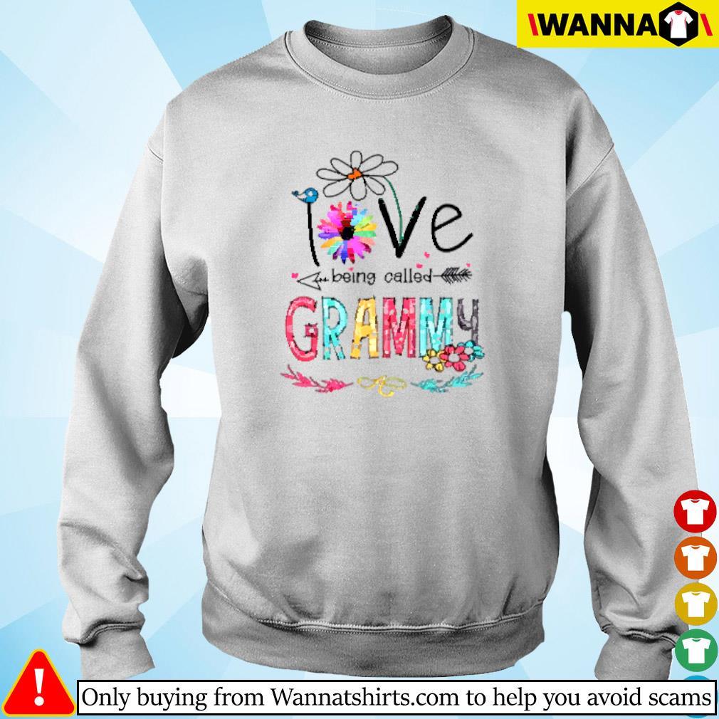 I love being called Grammy daisy flower Sweater