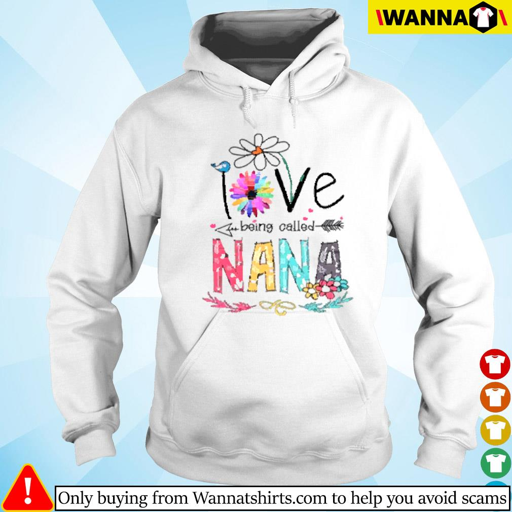 I love being called Nana daisy flower Hoodie