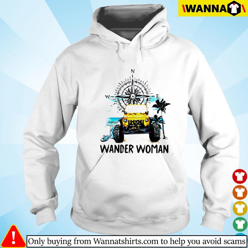 Jeep wander woman compass Hoodie
