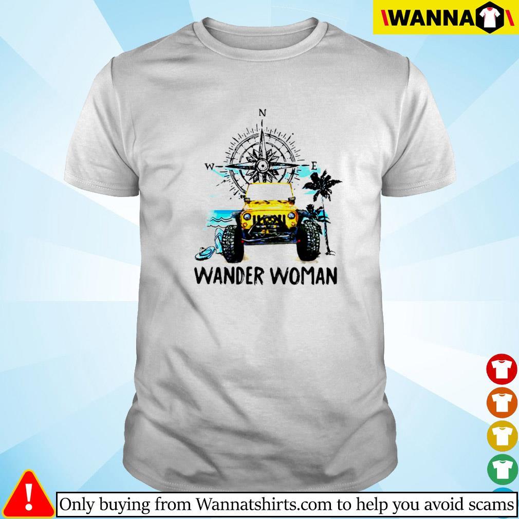 Jeep wander woman compass shirt
