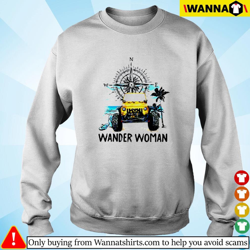 Jeep wander woman compass Sweater