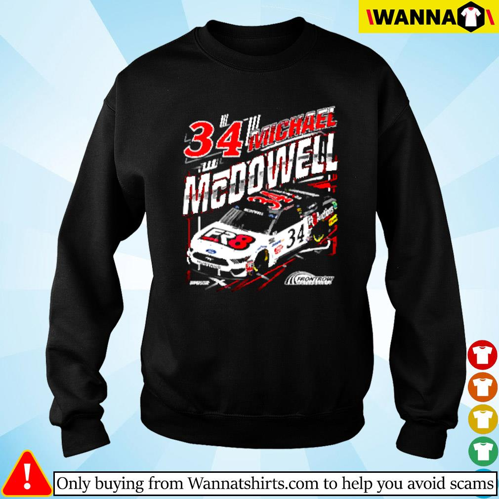 Michael McDowell Checkered flag Sweater