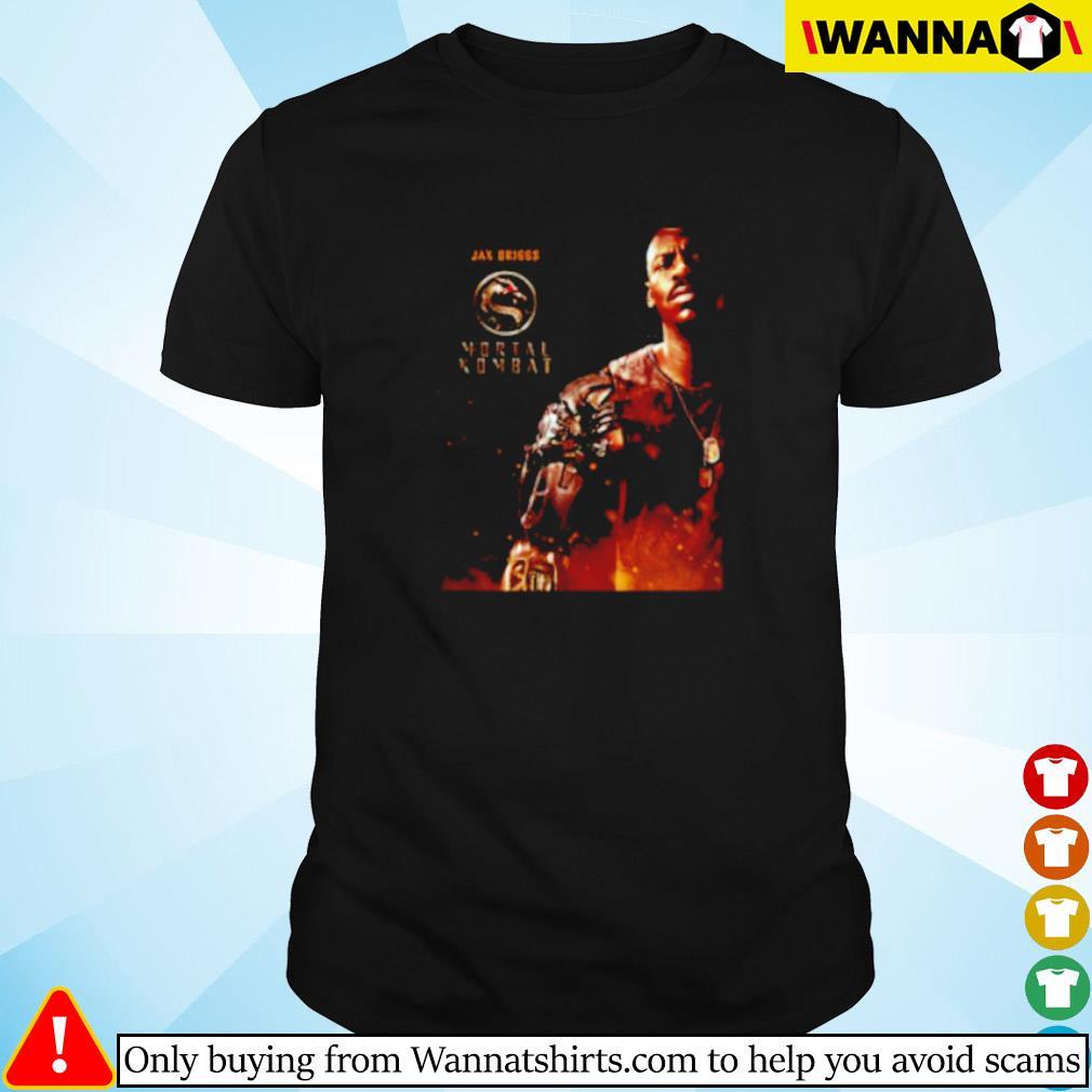 Mortal Kombat Movie 2021 Jax Briggs shirt