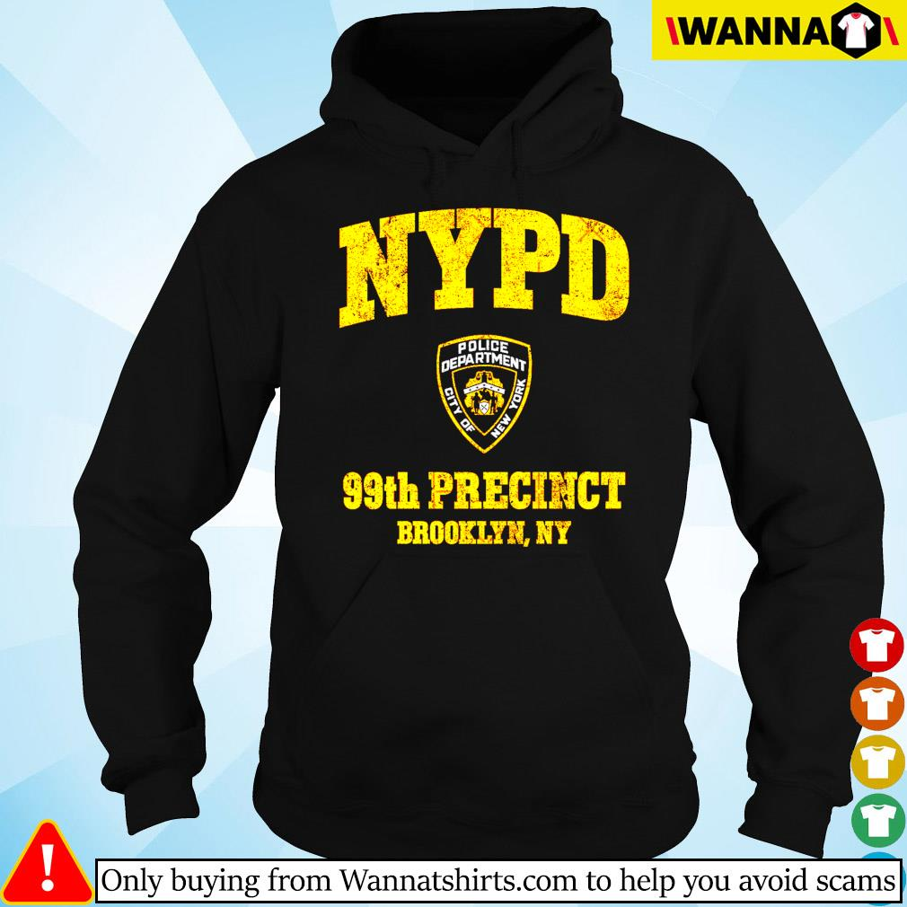 NYPD Police deparment city of 99th Precinct Brooklyn NY Hoodie