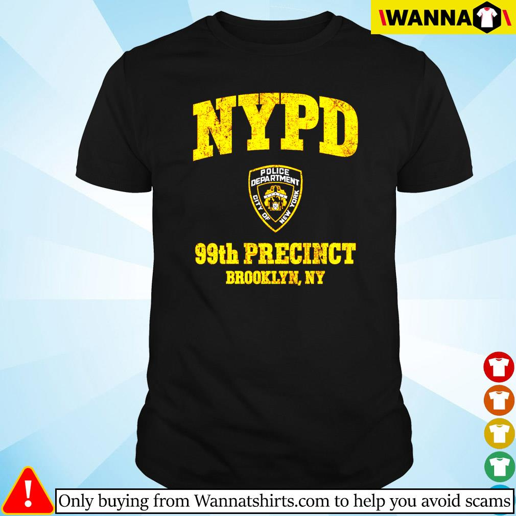 NYPD Police deparment city of 99th Precinct Brooklyn NY shirt