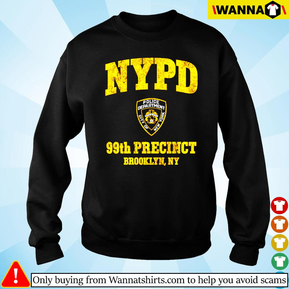 NYPD Police deparment city of 99th Precinct Brooklyn NY Sweater