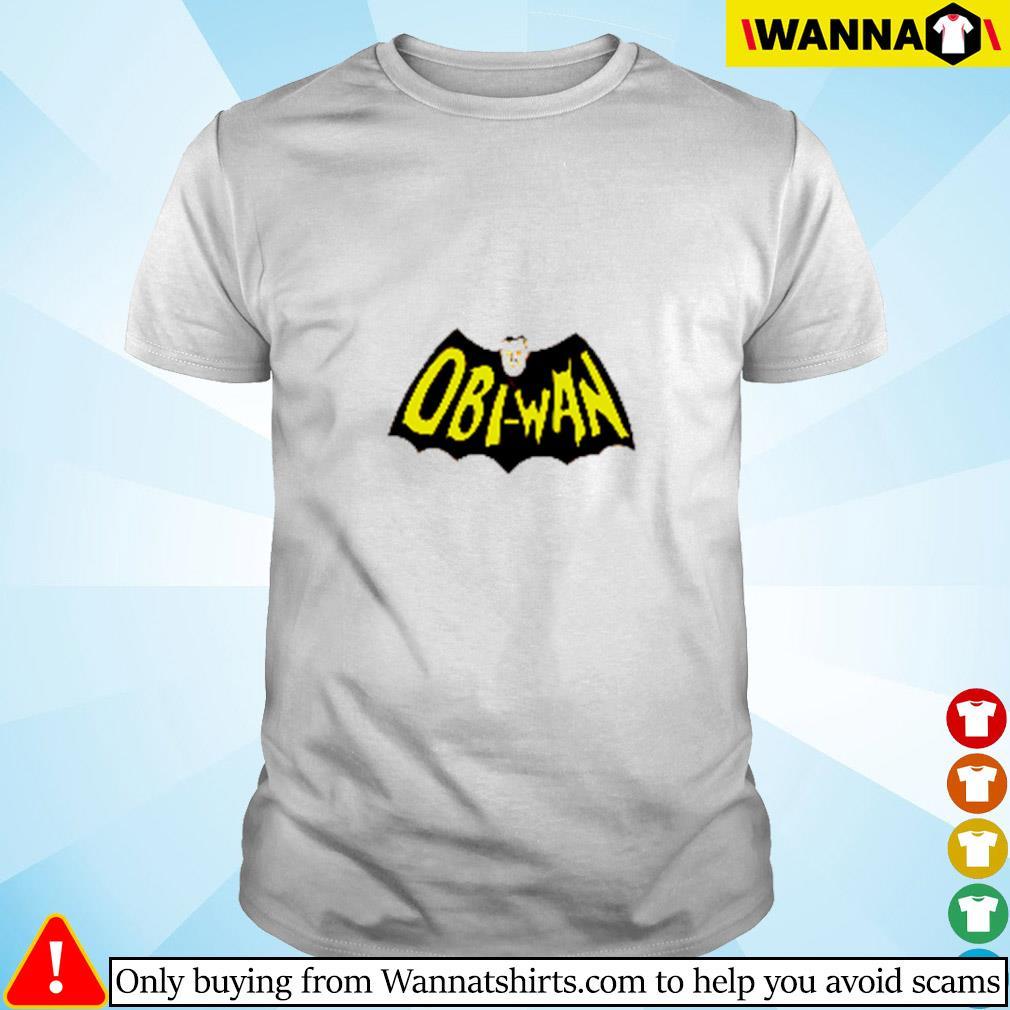 Obi-Wan batman Star Wars shirt