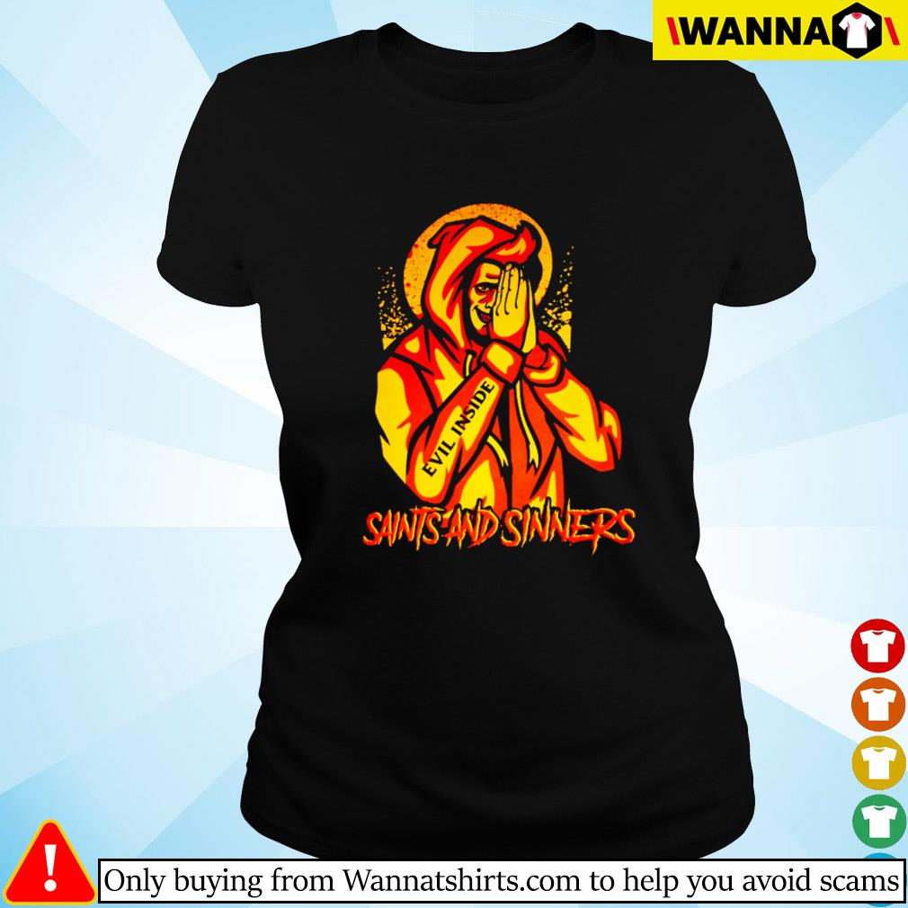 Saints and sinners Ladies tee