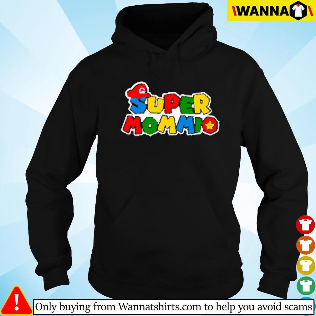 Super Mommio Super Mario Hoodie