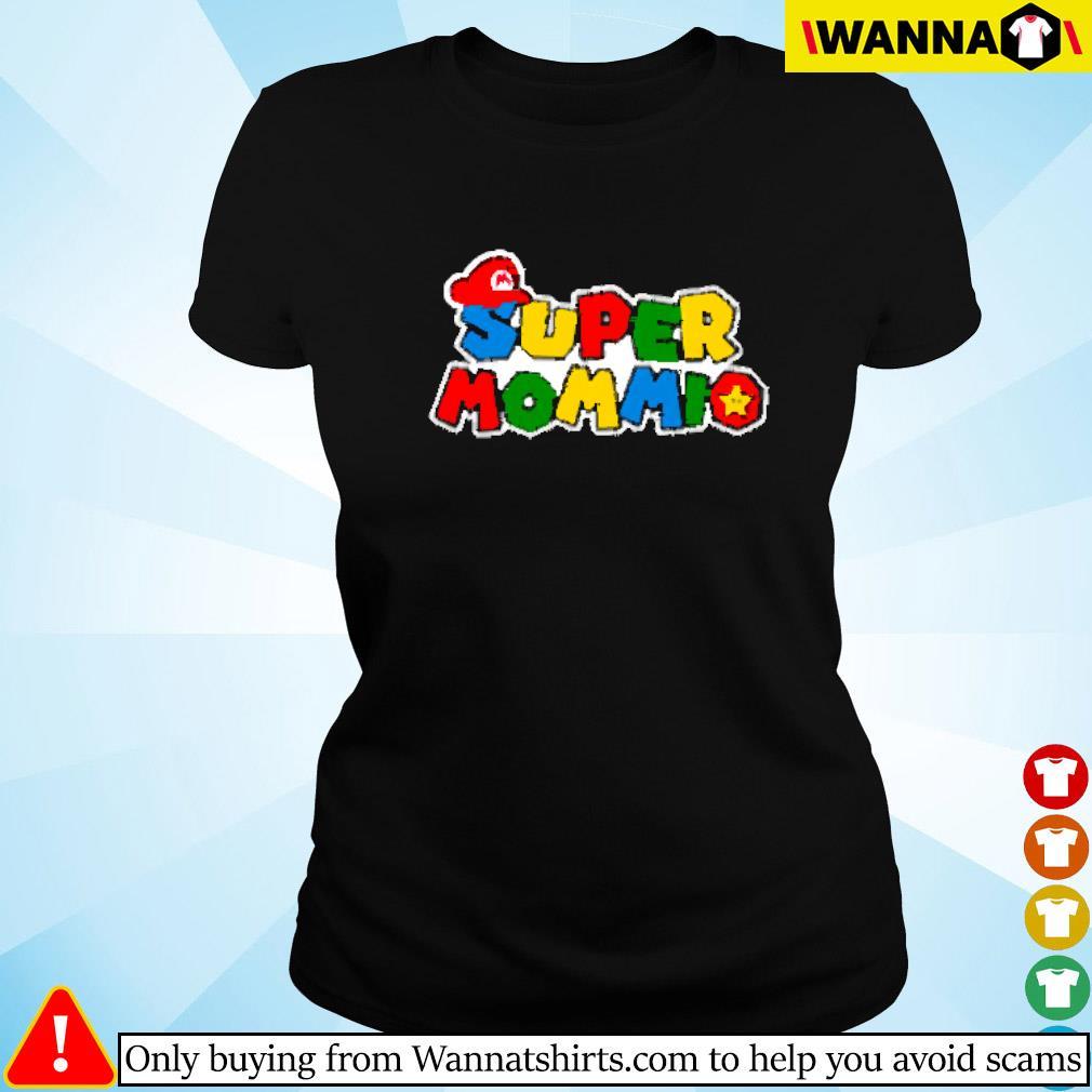 Super Mommio Super Mario Ladies tee