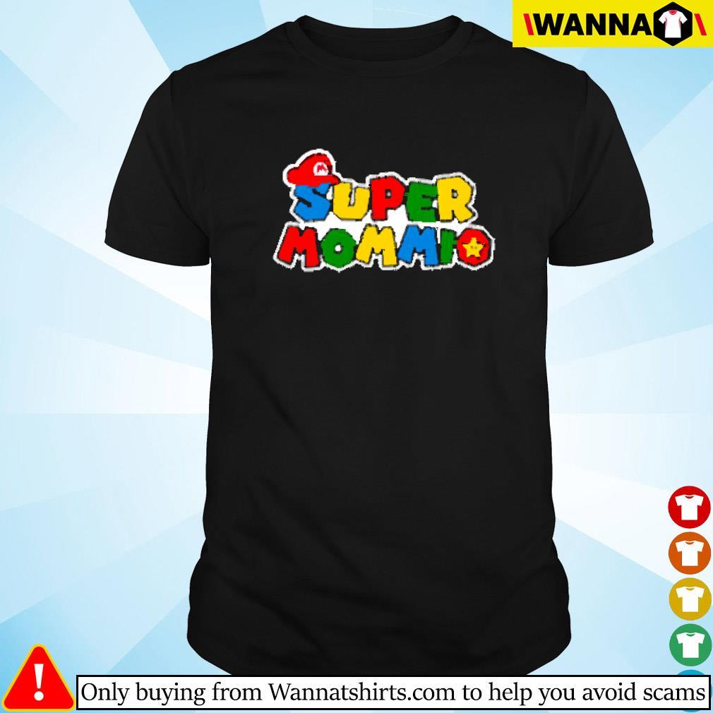 Super Mommio Super Mario shirt