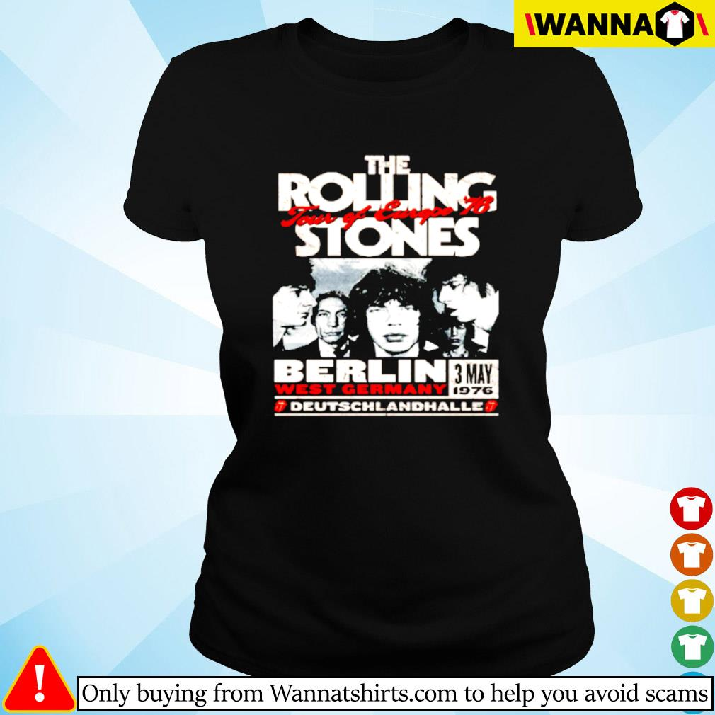 The Rolling Stones Berlin 76 Ladies tee