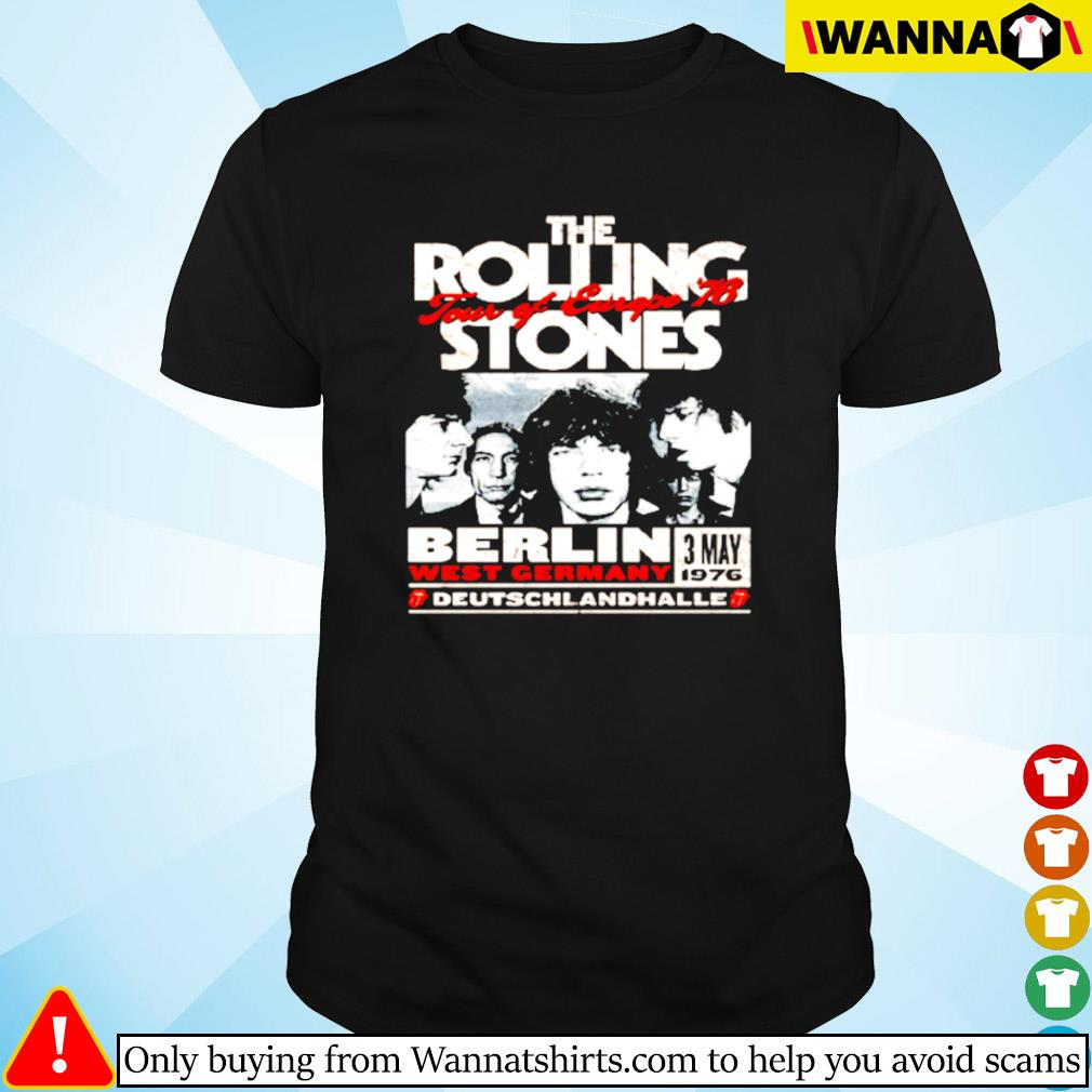 The Rolling Stones Berlin 76 shirt