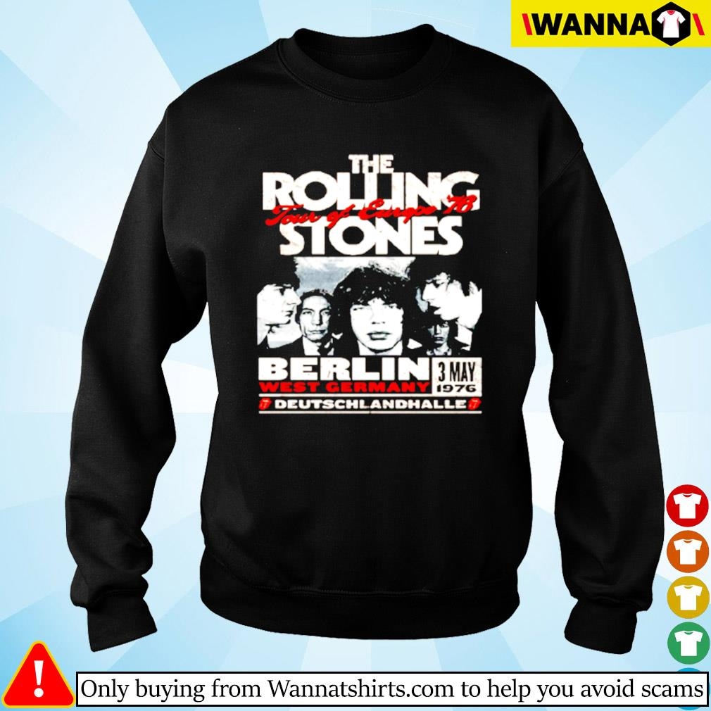 The Rolling Stones Berlin 76 Sweater
