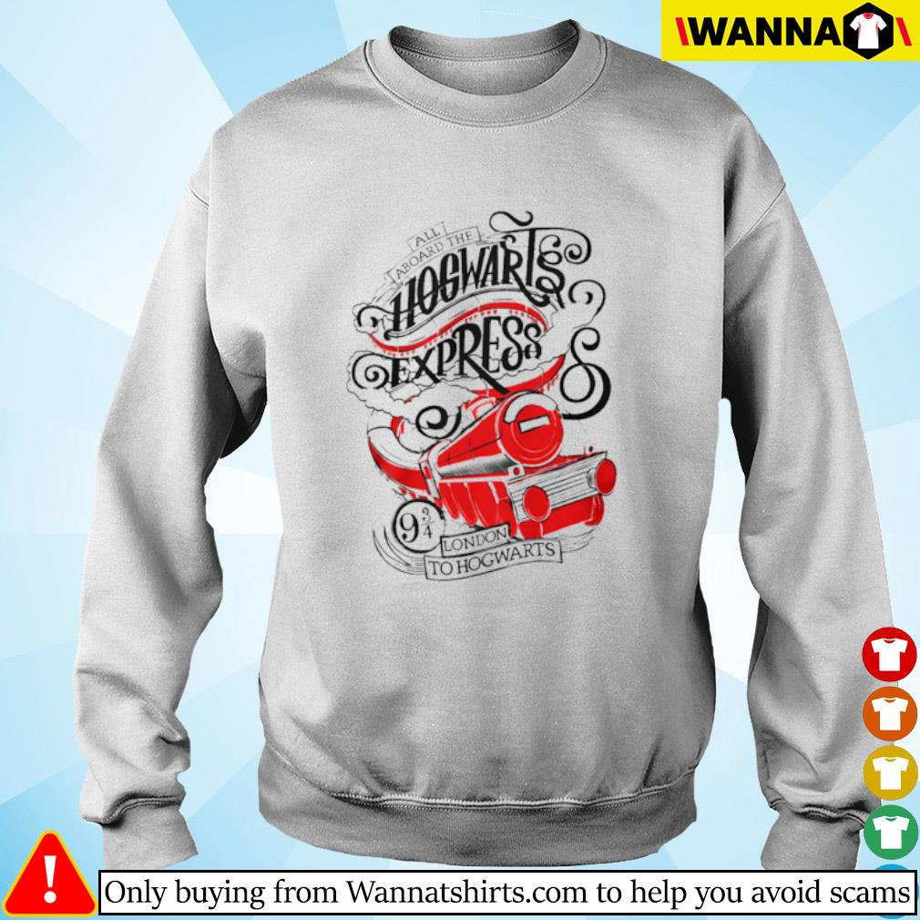 All aboard the Hogwarts express London to Hogwarts Sweater