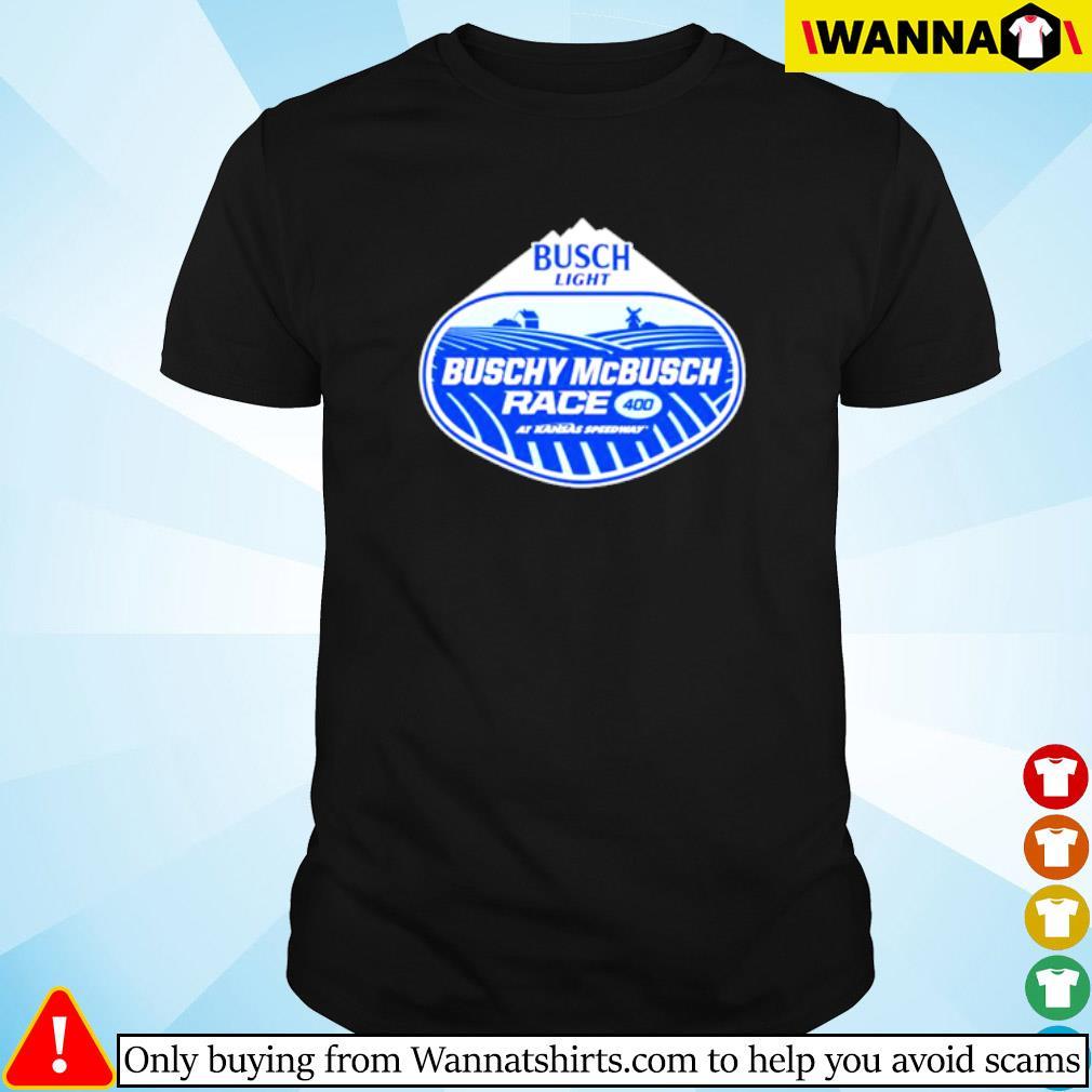 Busch Light Buschy McBusch Race 400 shirt