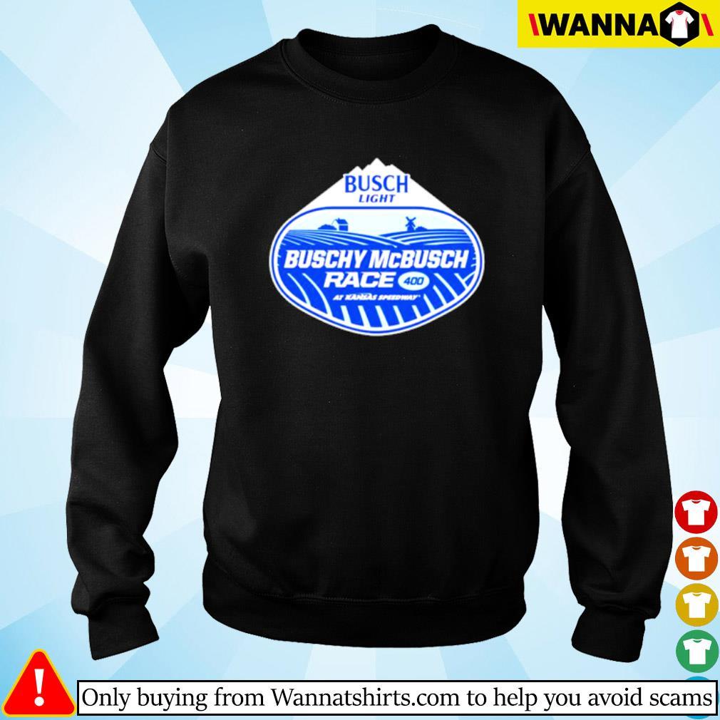 Busch Light Buschy McBusch Race 400 Sweater