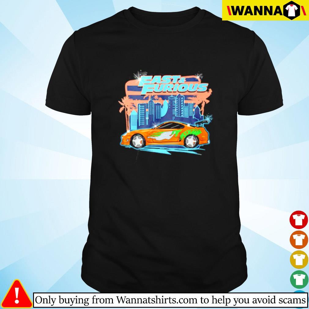 Fast and Furious car racing street shirt