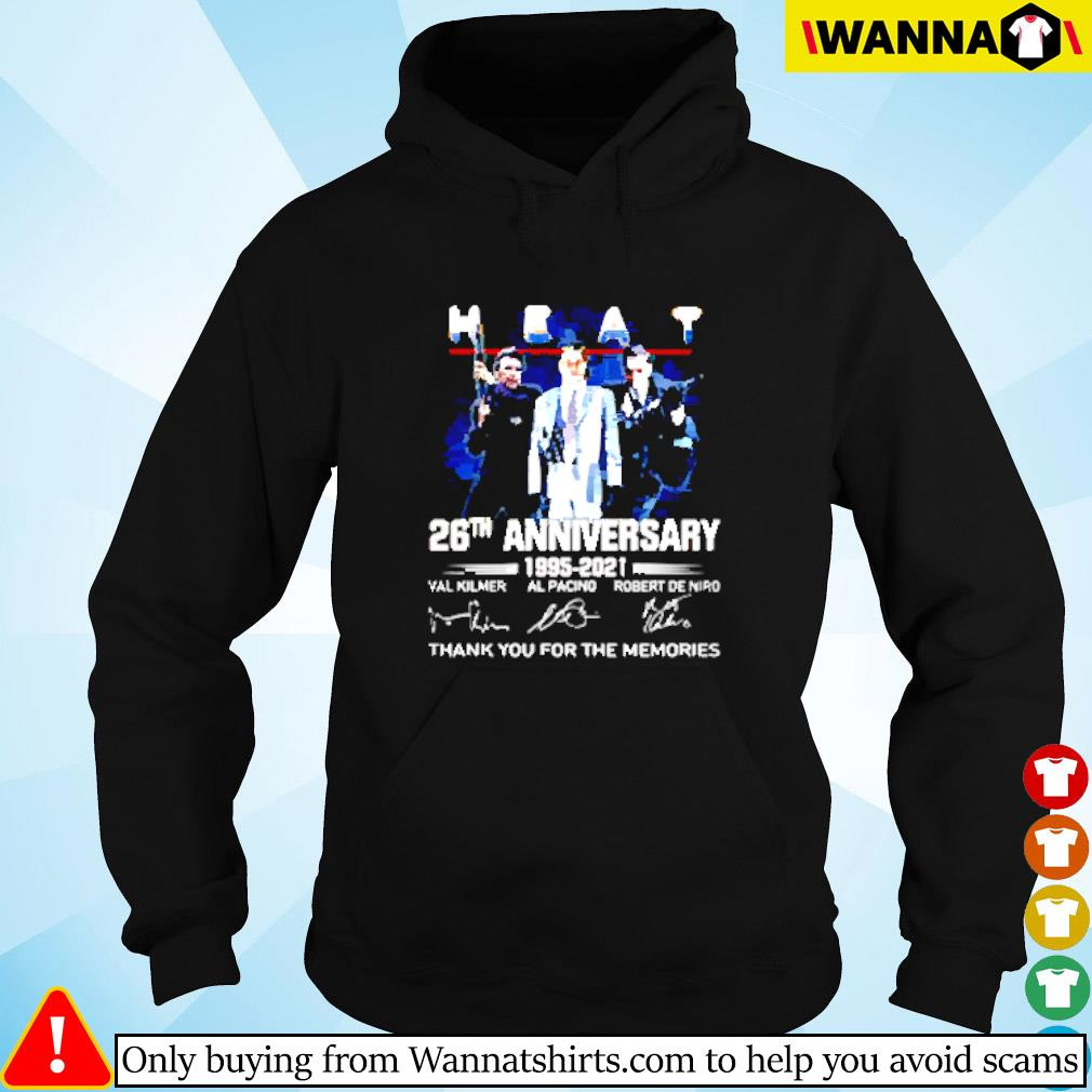 Heat 26th anniversary 1995-2021 thank you for the memories signature Hoodie