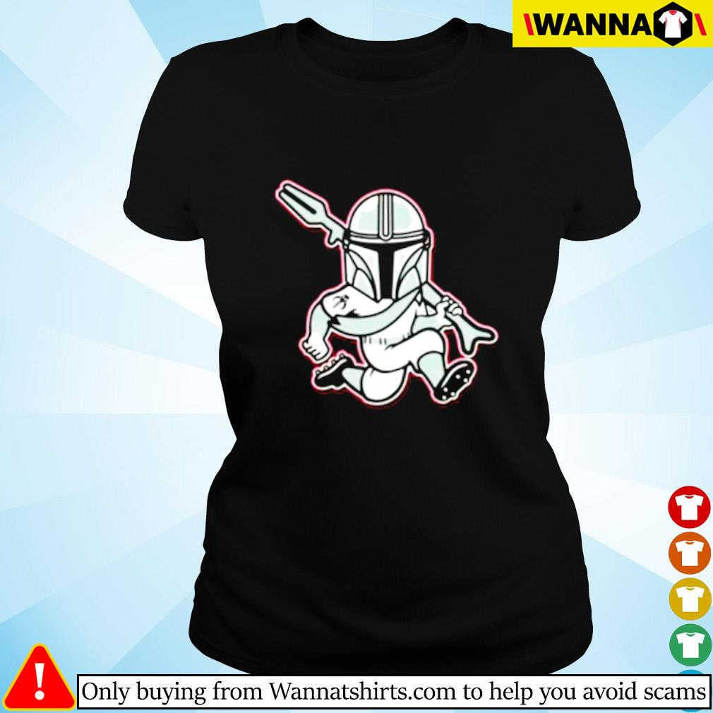 Mando Red Lorian Ladies tee