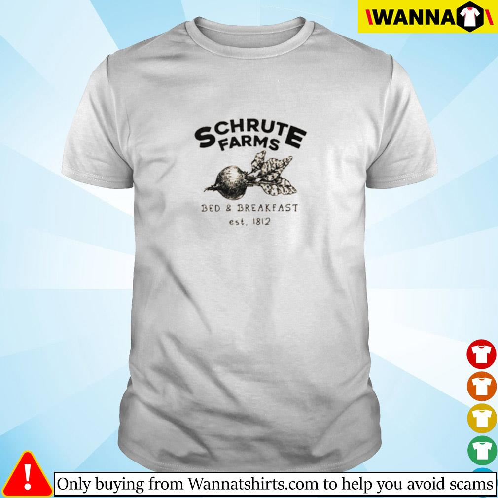Schrute Farms bed and breakfast est 1812 shirt