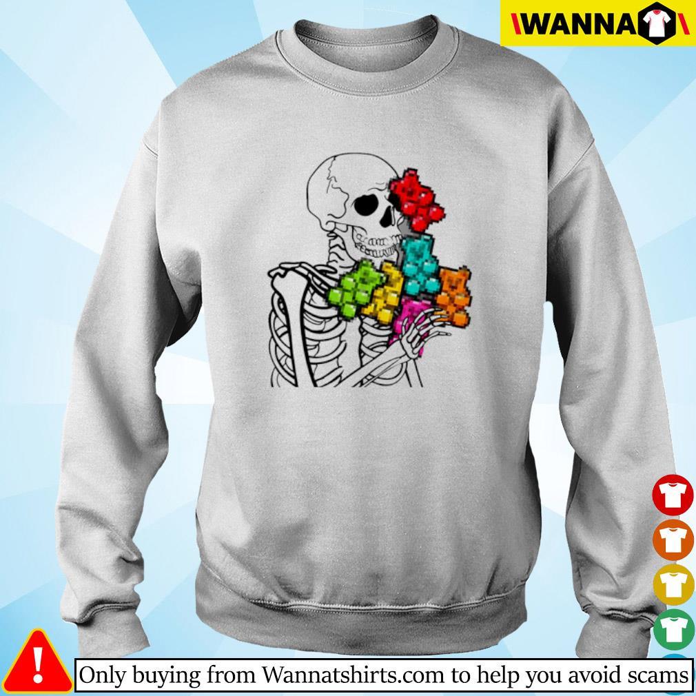 Skeleton Gummi Bears Sweater