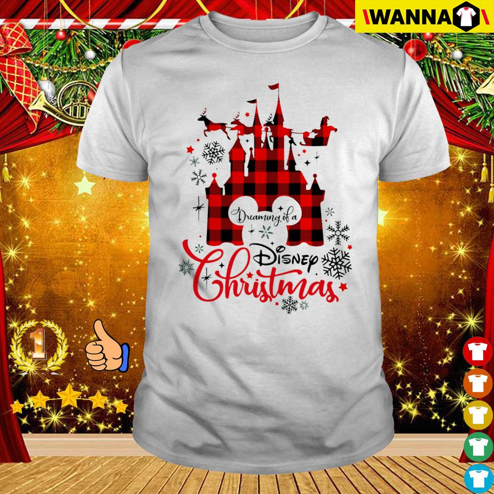 Disney Christmas Shirts.Disneyland Dreaming Of A Disney Christmas Sweater