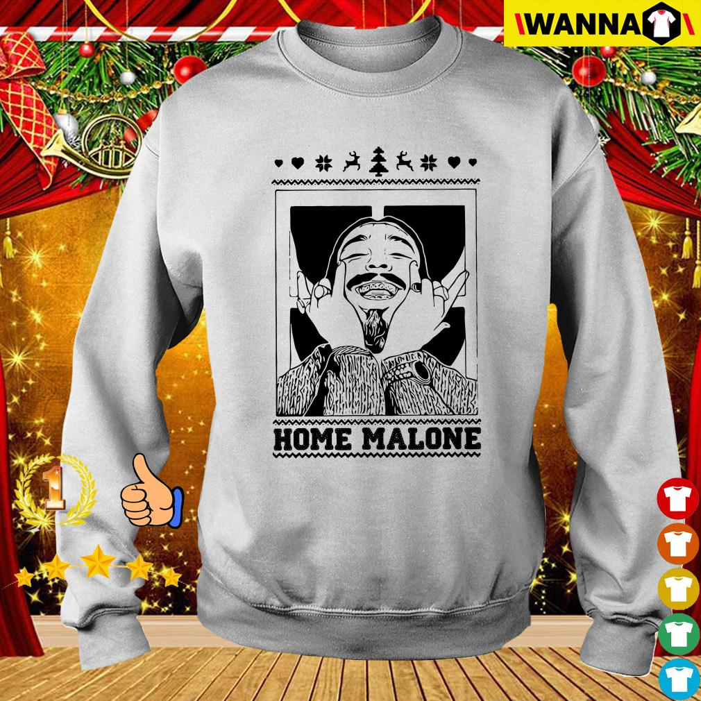 Post Malone Home Malone Christmas Sweater, Shirt, Hoodie