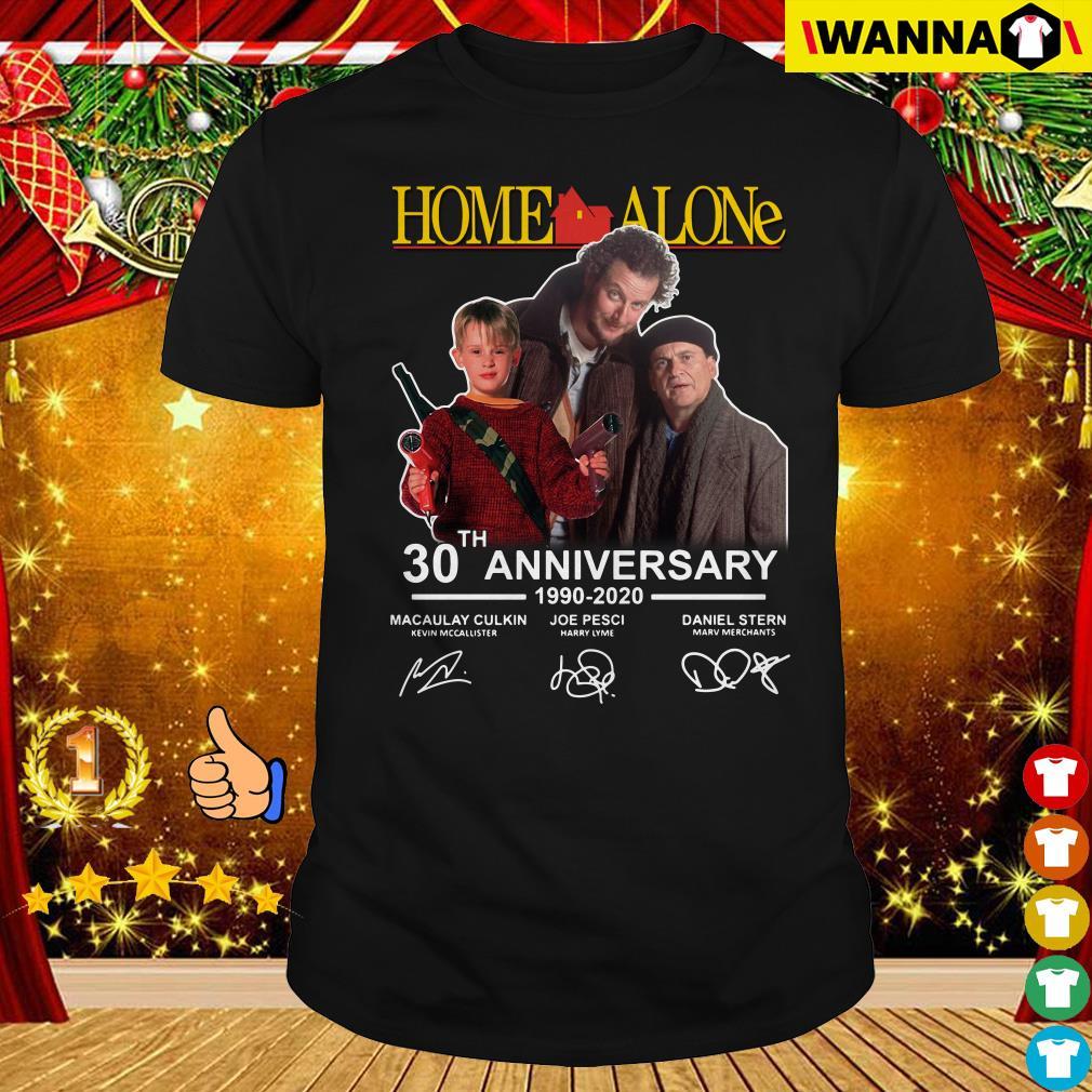 Home Alone 30th Anniversary 1990 2020 signature shirt ...