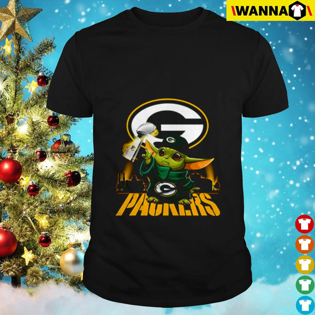 Baby Yoda Champion Green Bay Packers shirt
