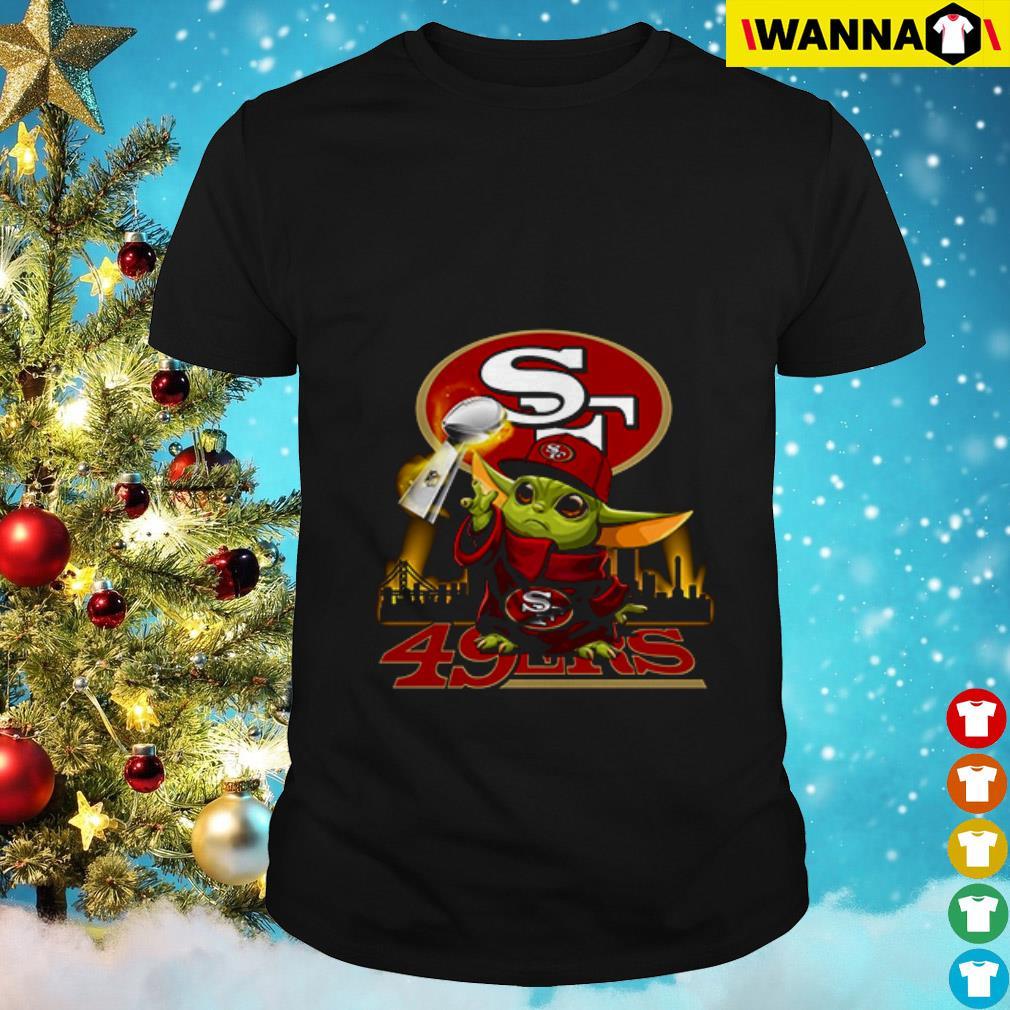 Baby Yoda Champion San Francisco 49ers shirt