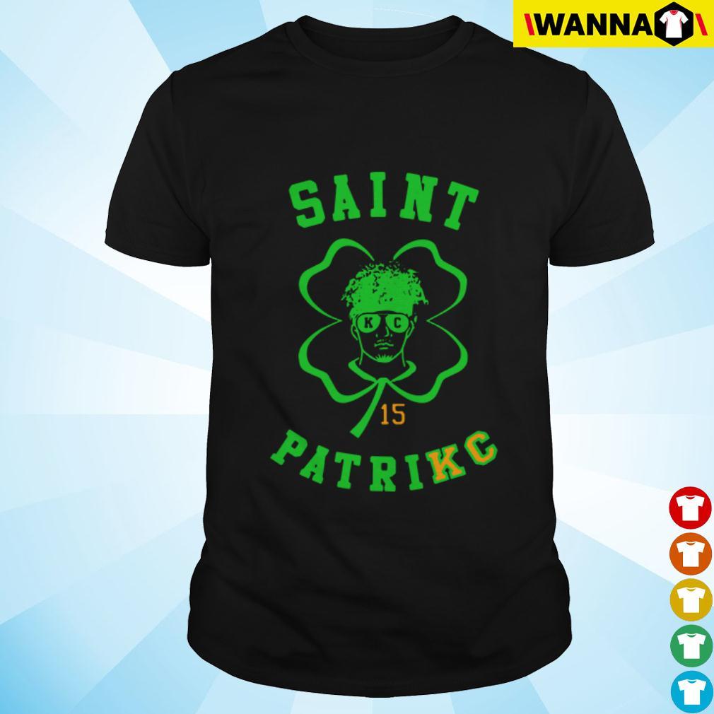 Saint Patrick Kansas City Chiefs Patrick Mahomes St. Patrick's day shirt