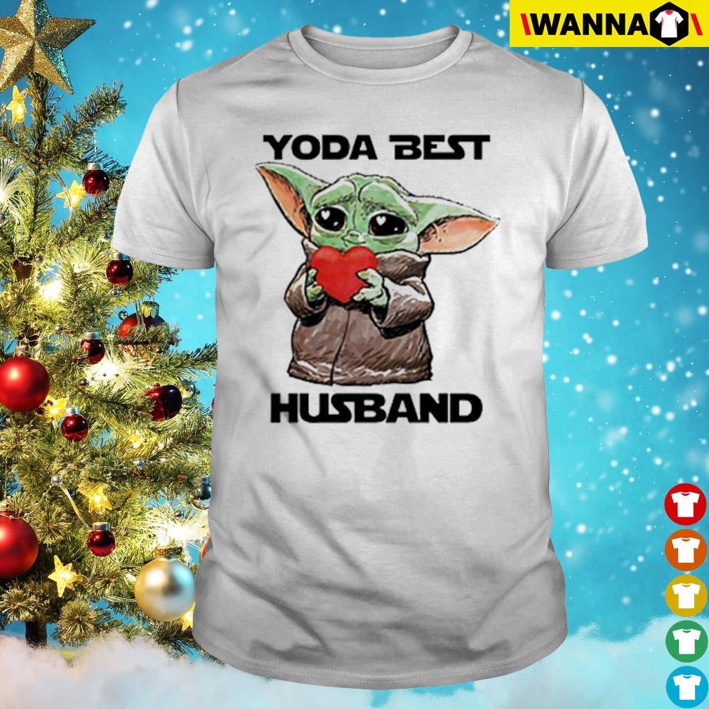 Baby Yoda best husband shirt
