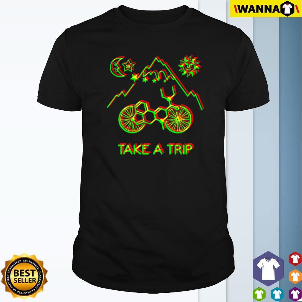1943 Albert Hofmann Bicycle day take a trip shirt