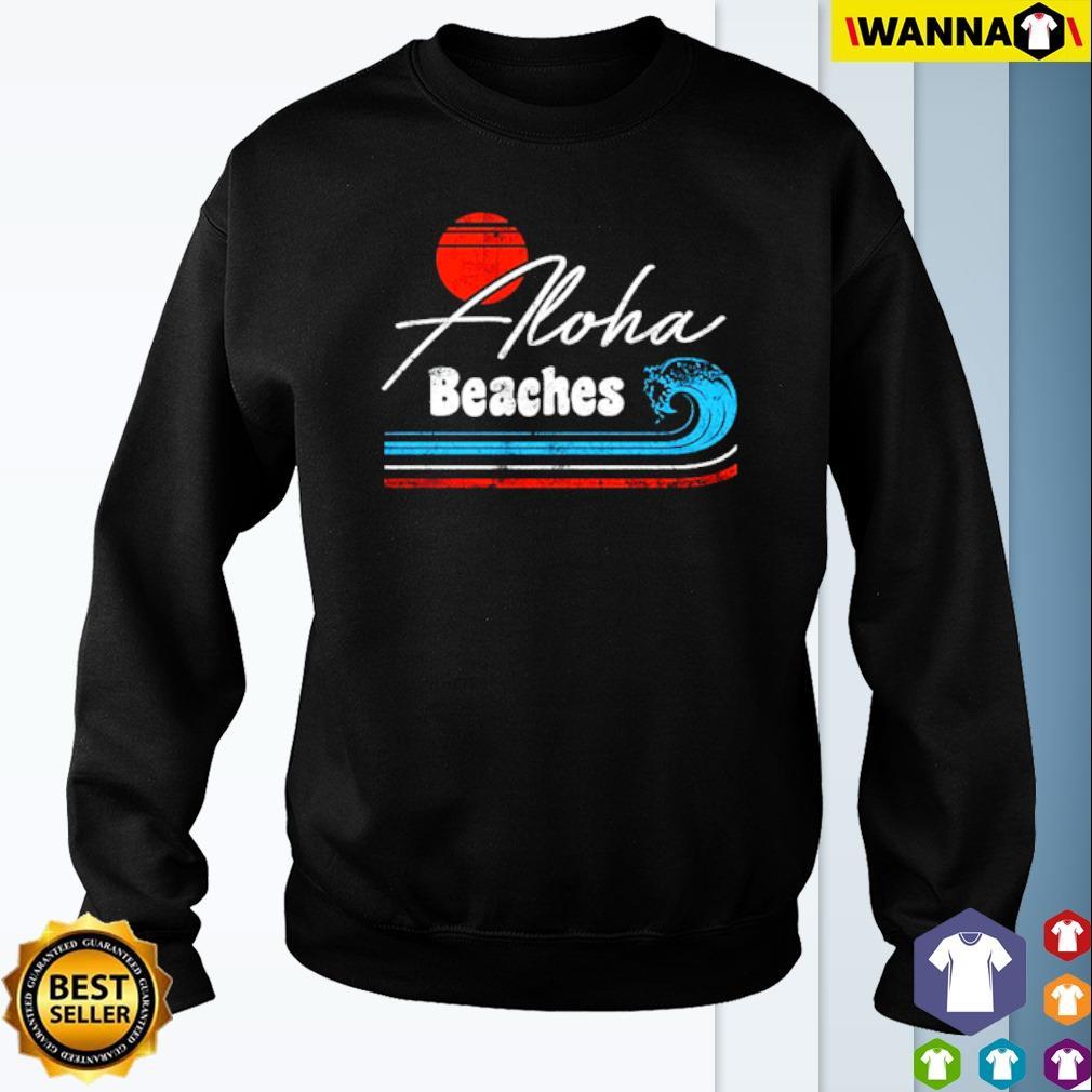 Aloha Beaches retro s Sweater